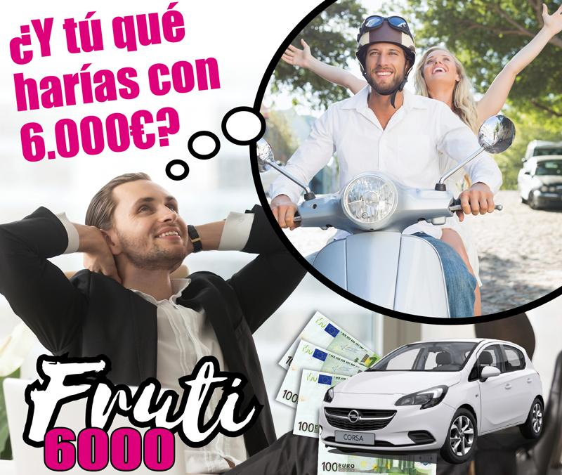 ¡Llega una nueva edición del Frutijuego6000!!