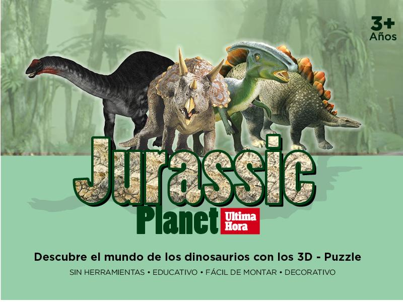 ¡Jurassic Planet en 3 D!