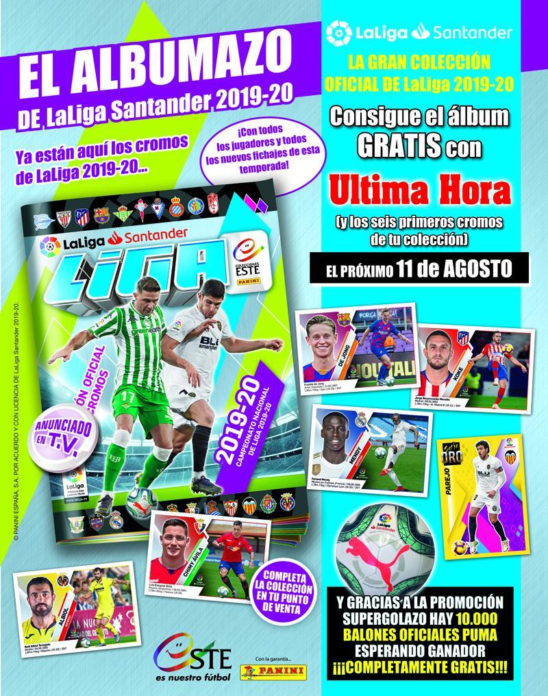 ¡Gran Albumazo de la Liga Santander 2019 -20!!!