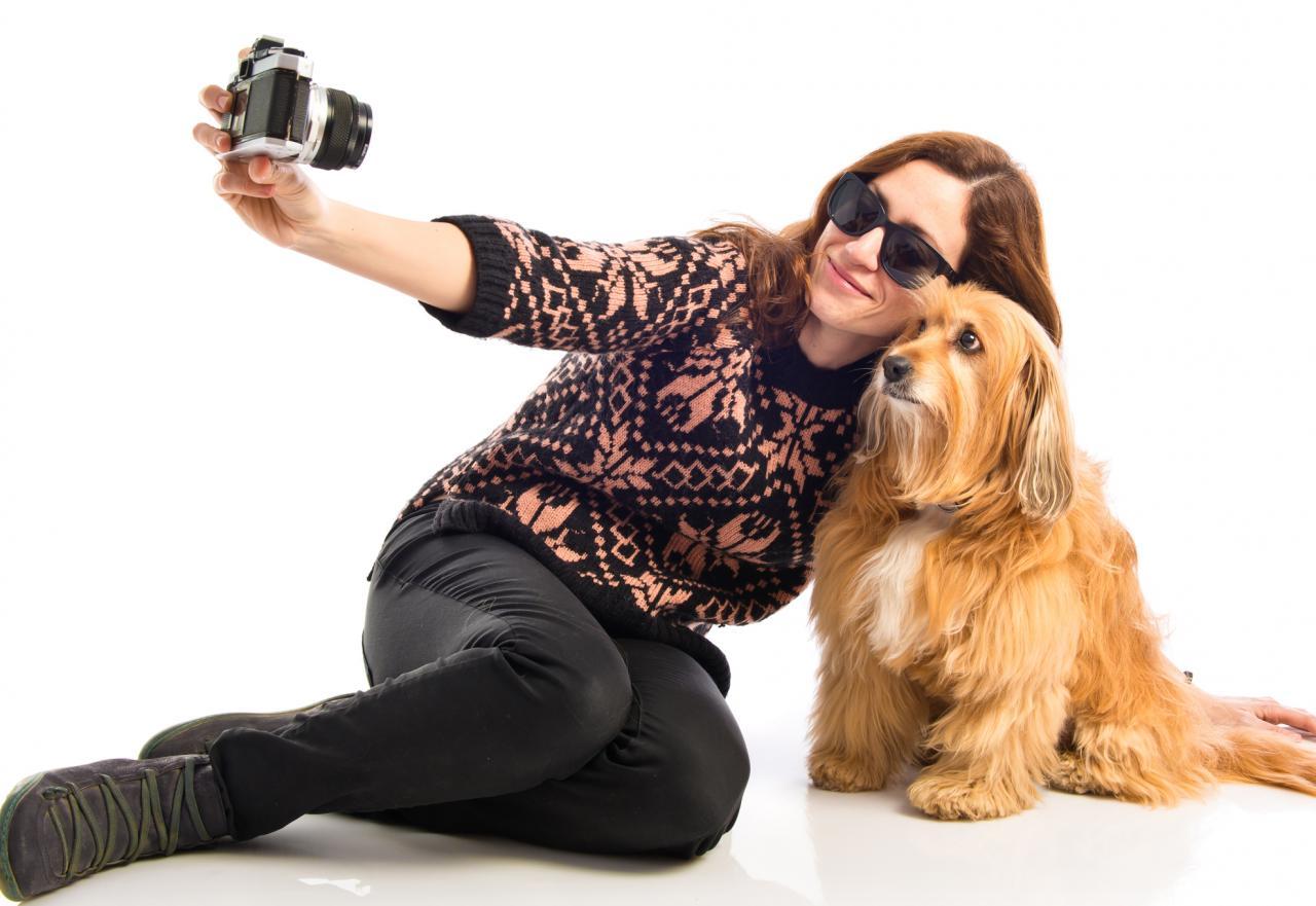 ¡Házte un selfie divertido con tu mascota!