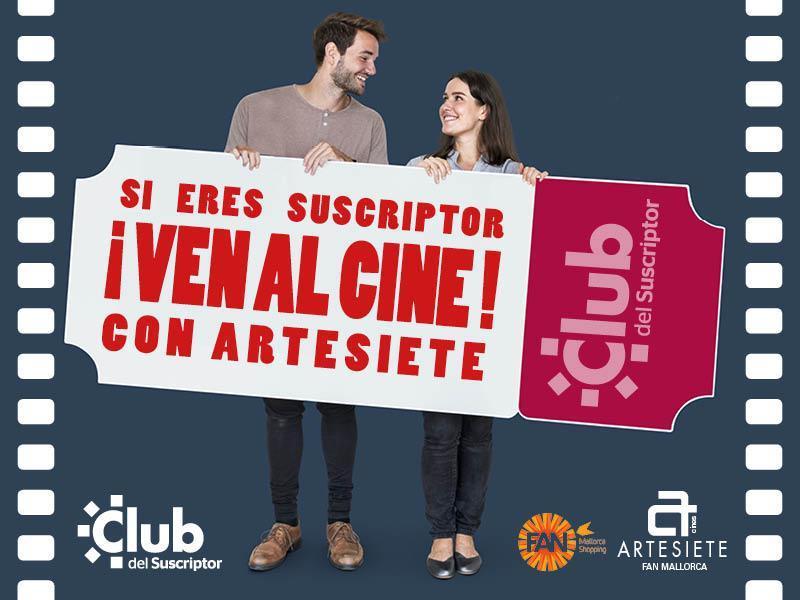 ¡Si eres suscriptor de Ultima Hora, ven al cine con Artesiete!!