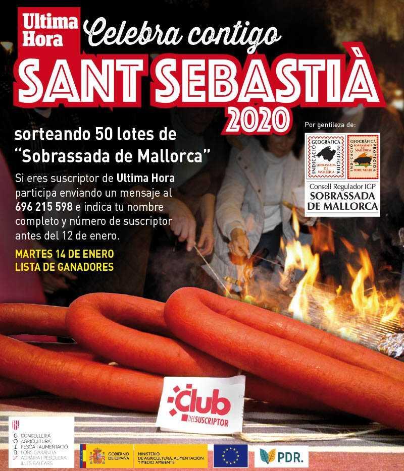 ¡Ultima Hora celebra contigo Sant Sebastià!!