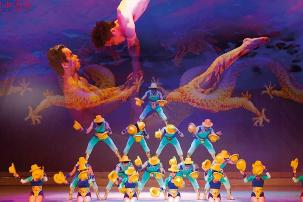 ¡Gran circo acrobático de China!!
