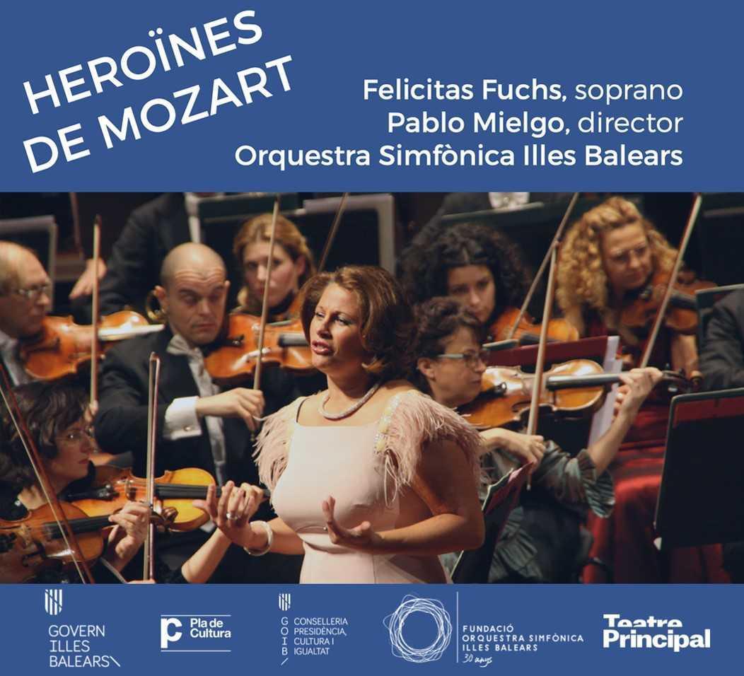 """¡Sorteamos entradas para el concierto """"Heroinas de Mozart""""! Teatre Principal"""