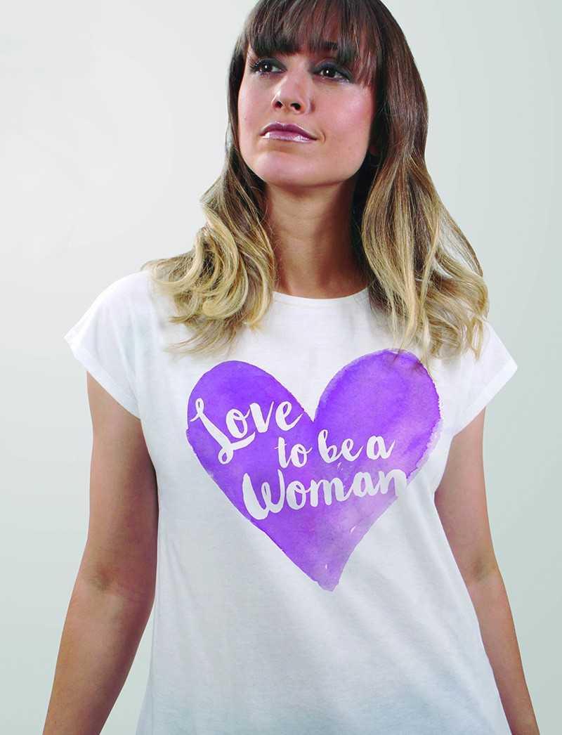 Camiseta día de la Mujer