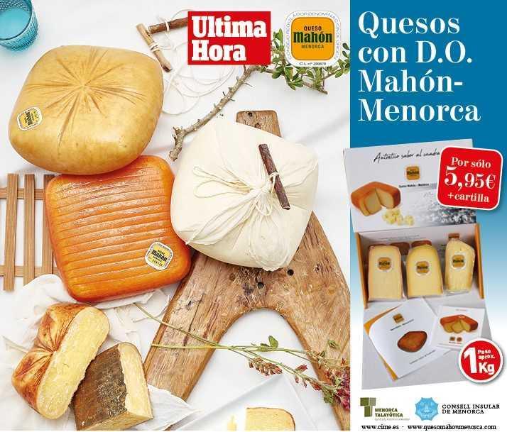 ¡Deliciosos quesos con D.O. Mahón -Menorca!