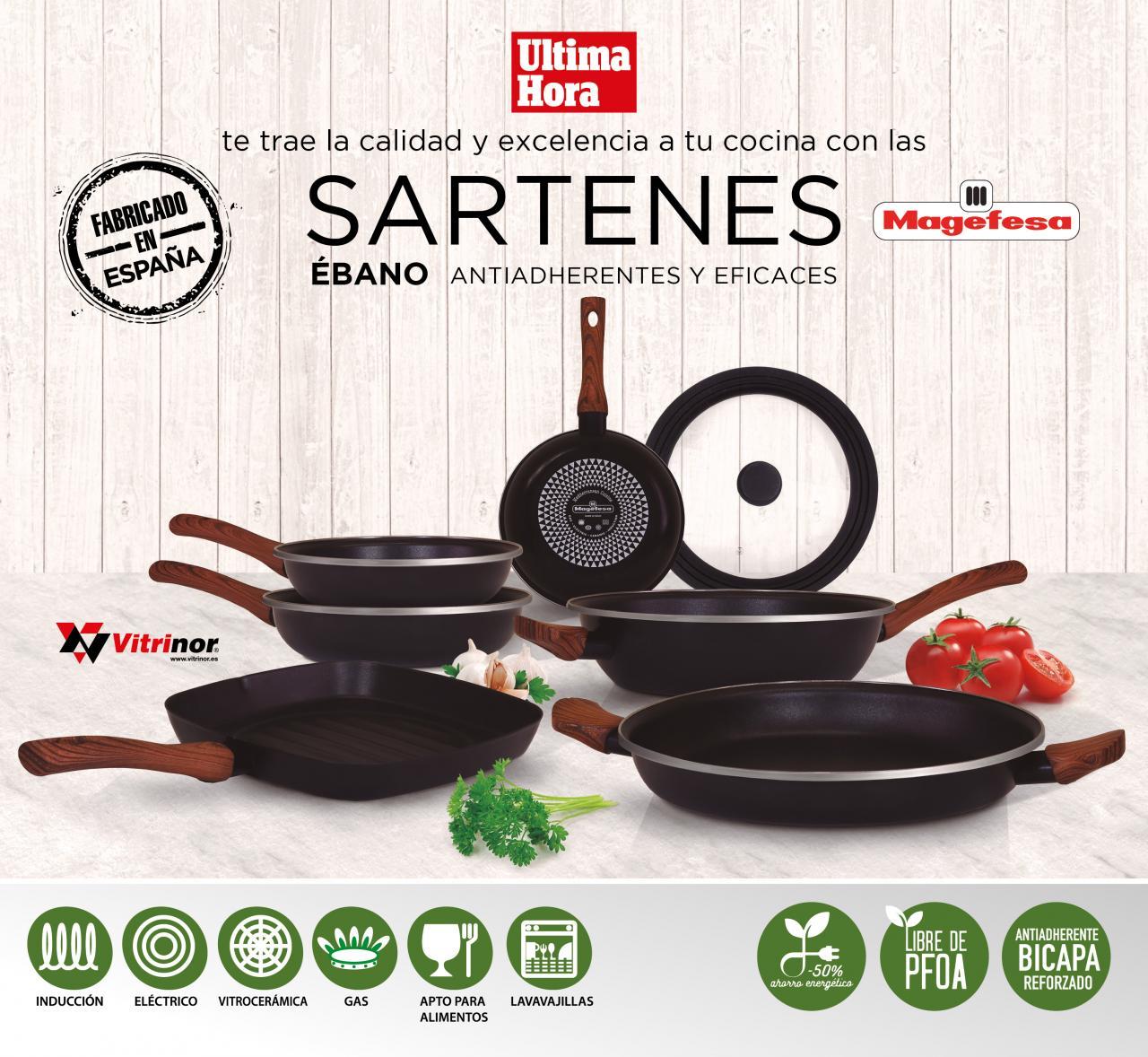 Colección de sartenes Magefesa