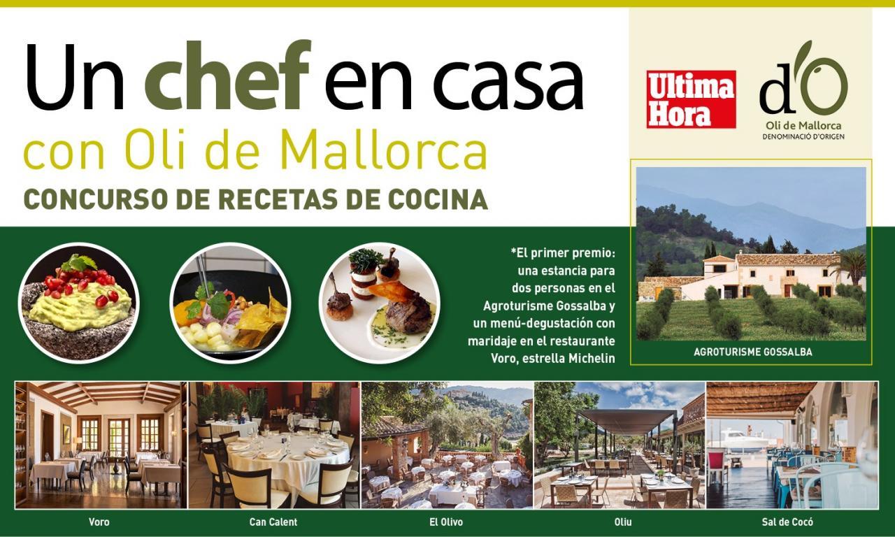 Participa en Un chef en casa con Oli de Mallorca DO