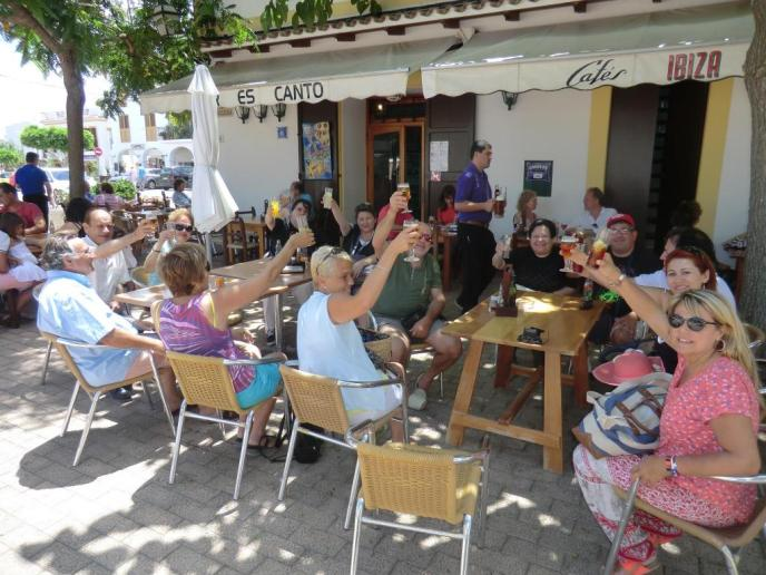 El encanto de la Ibiza más veraniega