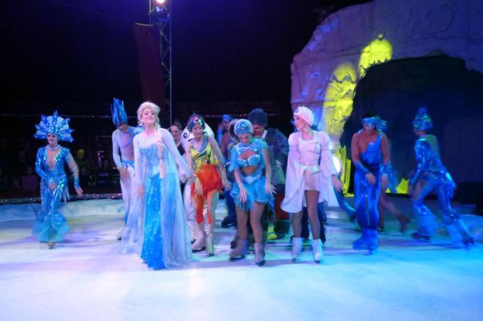 El mejor 'show'  sobre hielo