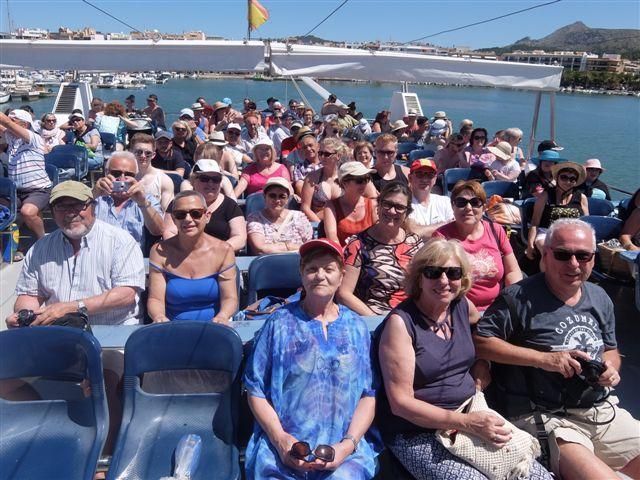 Jornada intensa en Formentor