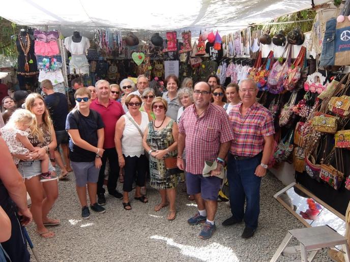 Un largo paseo por Ibiza