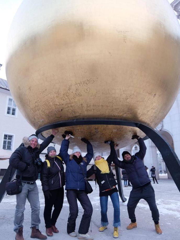 De fiesta en Salzburgo