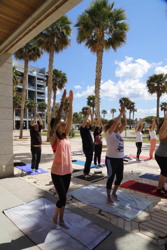 Una cita con el yoga