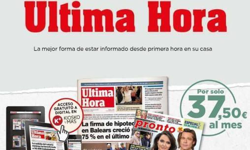 ¡Recibe en casa, con toda comodidad las noticias de Ultima Hora!!