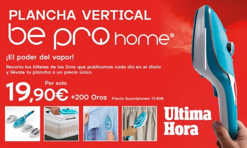 Plancha vertical Bepro Home