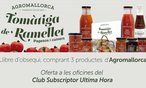 Colaboración entre Agromallorca y el Club del Suscriptor