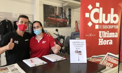 La fiesta ciclista de Suzuki Tenicars recauda más de 1.600€