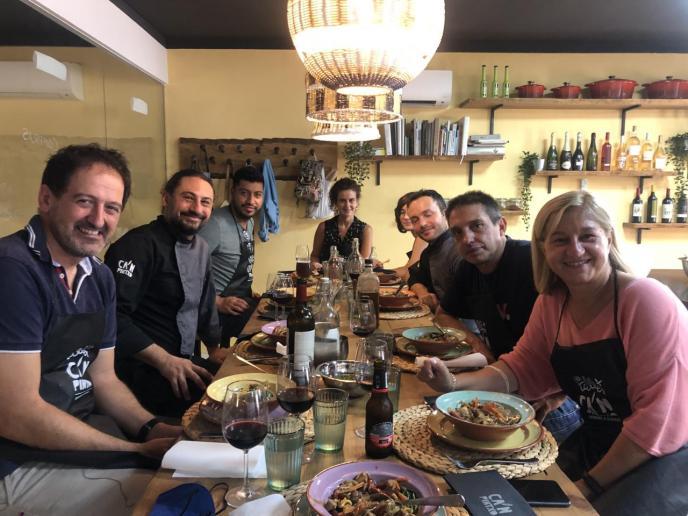 Un salto desde Sóller hasta Asia con la magia de la cocina