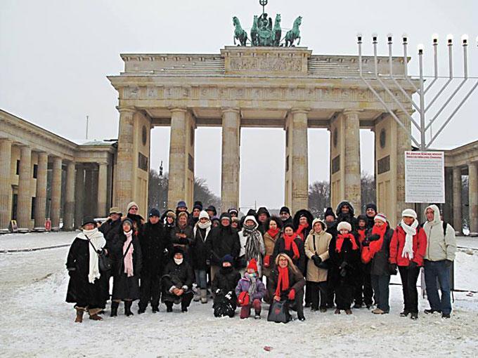 Ambiente navideño en la gélida Berlín