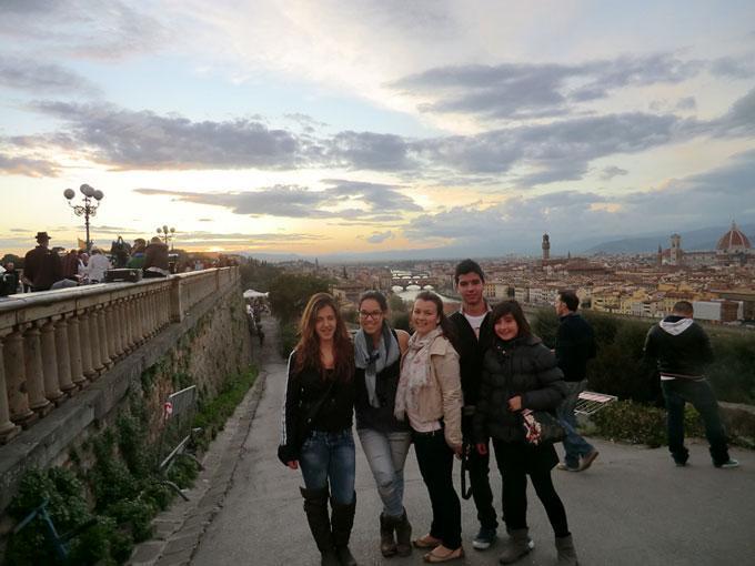 Todo arte, la Toscana y el Veneto