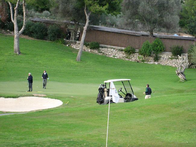 Clases de golf de la mano de un campeón
