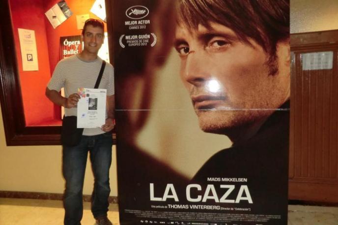Al cine para ver el nuevo film 'La caza'