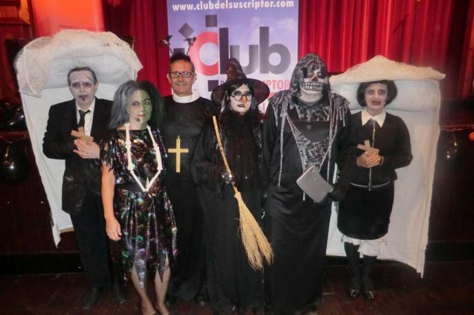 El concurso del Club de Halloween