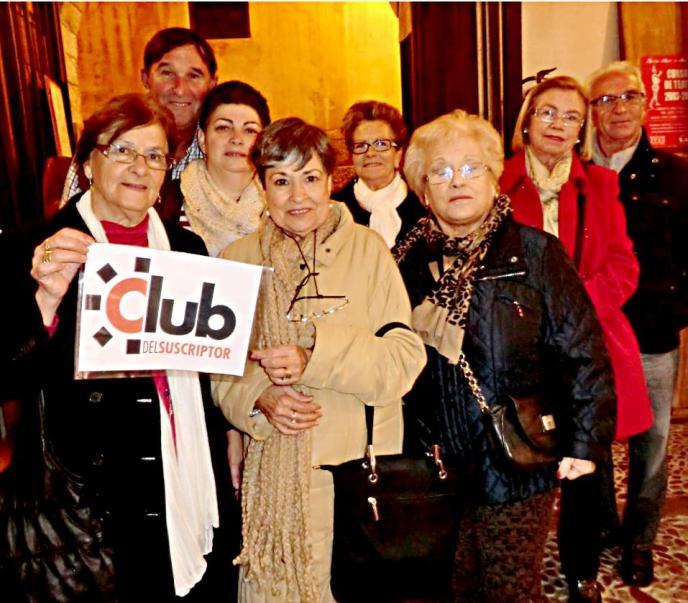 El Club visita el Teatre Sans