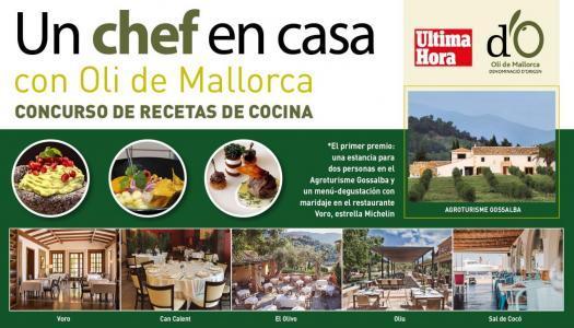 El concurso Un chef en casa con Oli de Mallorca DO ya tiene a sus ganadores