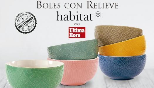 Boles de cerámica gres de la marca Habitat